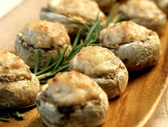 Как приготовить фаршированные грибы