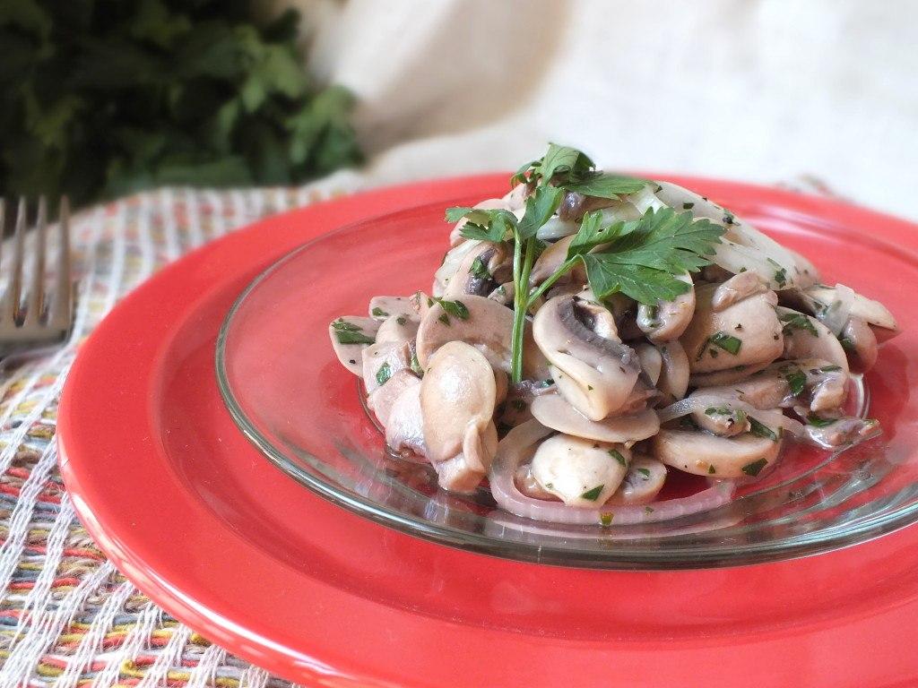 Рецепты закусок из грибов шампиньонов