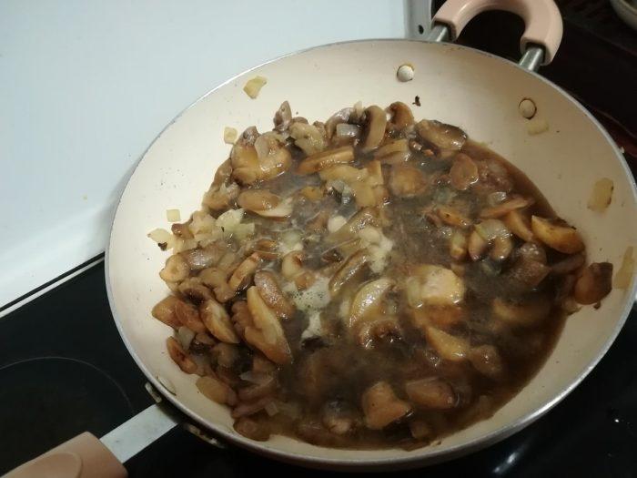 Как зажарить грибы