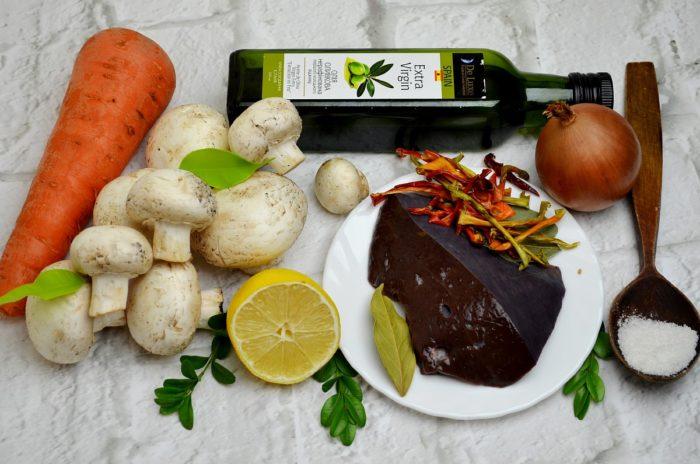 Ингредиенты до салата