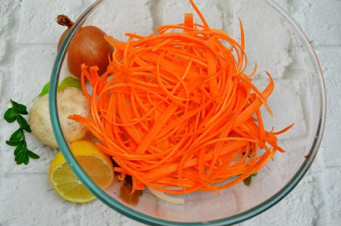 Как натереть моркву