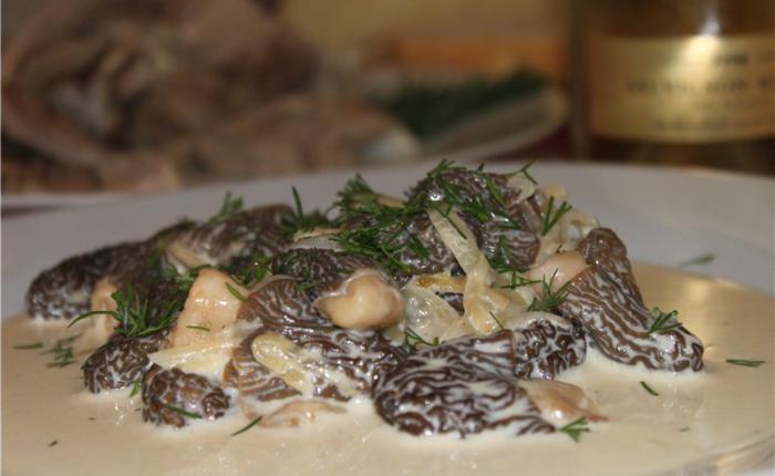 Соусы из сморчков